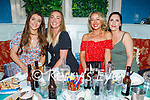 Enjoying the evening in Benners on Saturday, l to r: Susan Horgan, Samantha Drury, Aileen Galway and Miriam Dowling.