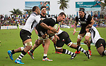Blade Thomson. Maori All Blacks vs. Fiji. Suva. MAB's won 27-26. July 11, 2015. Photo: Marc Weakley