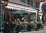 Oesterreich, Salzburger Land, Pongau, Gasteinertal, Kurort Bad Hofgastein: Cafe im Ortszentrum | Austria, Salzburger Land, Gasteiner Valley, health resort Bad Hofgastein: Restaurant at village centre