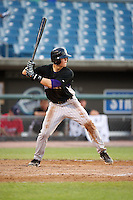 Christian Arroyo #13 of Hernando High School in Brooksville, Florida playing for the Colorado Rockies scout team during the East Coast Pro Showcase at Alliance Bank Stadium on August 1, 2012 in Syracuse, New York.  (Mike Janes/Four Seam Images)