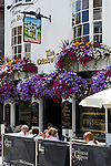 Great Britain, England, East Sussex, Brighton: The Cricketers Pub in The Lanes area