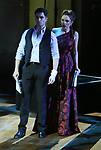 """Corey Cott and Laura Osnes performing during the MCP Production of """"The Scarlet Pimpernel"""" Concert at the David Geffen Hall on February 18, 2019 in New York City."""