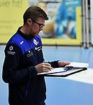 21.11.2020, GER, VBL, SVG Lueneburg vs SWD Powervolleys Dueren, im Bild Trainer Stefan Huebner (Lueneburg) /Foto © nordphoto/ Witke