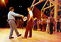 Oklahoma. A musical. Music by Richard Rodgers, book and lyrics by Oscar Hammersmith II, Choreography by Susan Stroman, directed by Trevor Nunn. Opened at The Olivier Theatre at The National Theatre 15/7/98. CREDIT Geraint Lewis