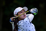 Lin Tze-Han of Taiwan tees off during the first round of the EFG Hong Kong Ladies Open at the Hong Kong Golf Club Old Course on May 11, 2018 in Hong Kong. Photo by Marcio Rodrigo Machado / Power Sport Images