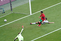 Cristiano Ronaldo (Portugal) erzielt das Tor zum 0:1<br /> - Muenchen 19.06.2021: Deutschland vs. Portugal, Allianz Arena Muenchen, Euro2020, emonline, emspor, <br /> <br /> Foto: Marc Schueler/Sportpics.de<br /> Nur für journalistische Zwecke. Only for editorial use. (DFL/DFB REGULATIONS PROHIBIT ANY USE OF PHOTOGRAPHS as IMAGE SEQUENCES and/or QUASI-VIDEO)