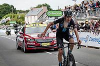 Tiesj Benoot (BEL/DSM) finishing the stage<br /> <br /> Stage 1 from Brest to Landerneau (198km)<br /> 108th Tour de France 2021 (2.UWT)<br /> <br /> ©kramon