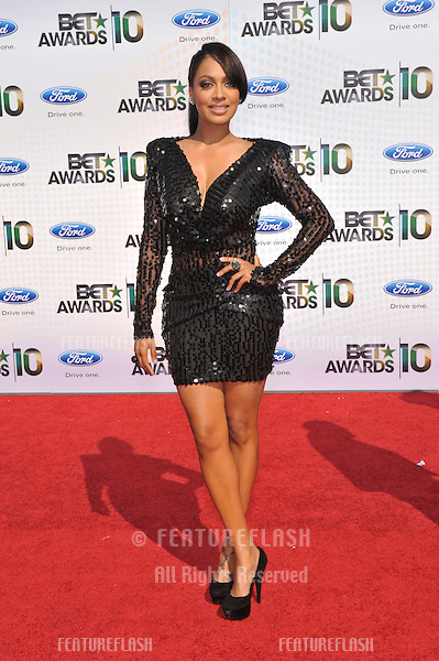 LaLa Vazquez at the 2010 BET Awards at the Shrine Auditorium, Los Angeles..June 27, 2010  Los Angeles, CA.Picture: Paul Smith / Featureflash