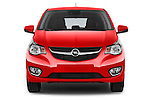 Car photography straight front view of a 2016 Opel Karl Cosmo 5 Door Hatchback Front View