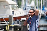 BENJEDDI Farouk LEN<br /> Hoorn, Netherlands <br /> LEN 2016 European Open Water Swimming Championships <br /> Open Water Swimming<br /> Men's 10km<br /> Day 01 10-07-2016<br /> Photo Giorgio Perottino/Deepbluemedia/Insidefoto