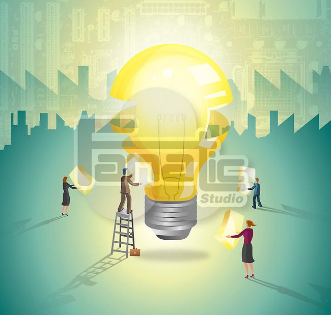 Building up an innovative idea