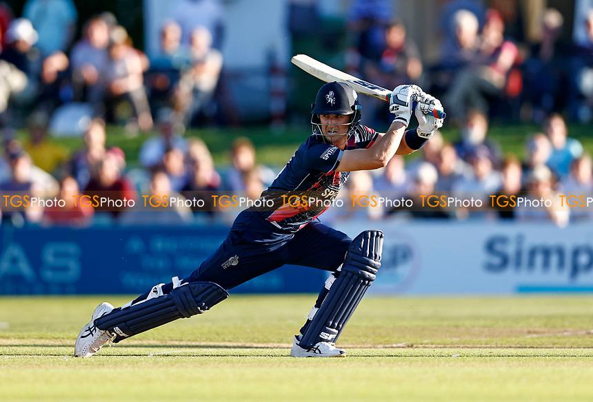 Joe Denly bats for Kent during Kent Spitfires vs Hampshire Hawks, Vitality Blast T20 Cricket at The Spitfire Ground on 9th June 2021
