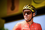 Olympic Champion Greg Van Avermaet (BEL) CCC Team at sign on before Stage 10 of the 2019 Tour de France running 217.5km from Saint-Flour to Albi, France. 15th July 2019.<br /> Picture: ASO/Pauline Ballet | Cyclefile<br /> All photos usage must carry mandatory copyright credit (© Cyclefile | ASO/Pauline Ballet)