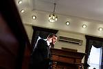 NEWS-New Jersey Governor Chris Christie speaks to press