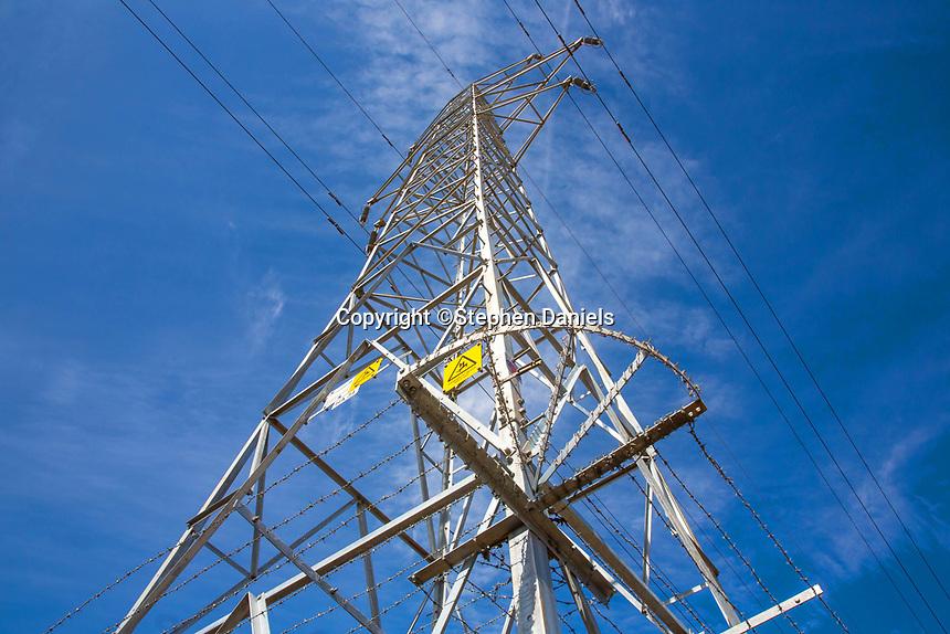 © Stephen Daniels<br /> Power Tower at Flawborough Farm, Flawborough, Nr Grantham, Lincs/Nots