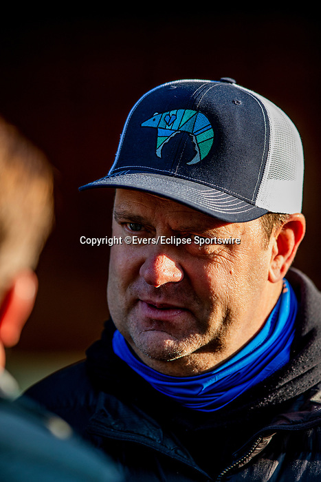 April 26, 2021: Trainer Doug O' Neill at Churchill Downs in Louisville, Kentucky on April 26, 2021. EversEclipse Sportswire/CSM