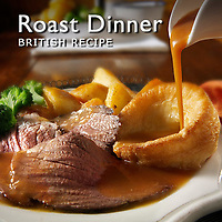 Roast Dinner Pictures | Sunday Roast Food Photos Images & Fotos