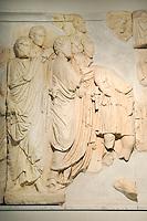 Tripoli, Libya - Frieze from Roman Arch of Septimus Severus, Leptis Magna, A.D. 203