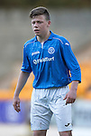 St Johnstone Academy v Manchester United Academy....17.04.15   <br /> Angus Mailer<br /> Picture by Graeme Hart.<br /> Copyright Perthshire Picture Agency<br /> Tel: 01738 623350  Mobile: 07990 594431