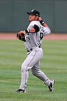 Dayton Dragons shortstop Henry Rodriguez during a game vs. the Great Lakes Loons at Dow Diamond in Midland, Michigan August 19, 2010.   Great Lakes defeated Dayton 1-0.  Photo By Mike Janes/Four Seam Images