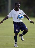 2007 Nike Friendlies, IMG Academies, Bradenton, Fla..USMNT U15 vs Irvine Strikers.