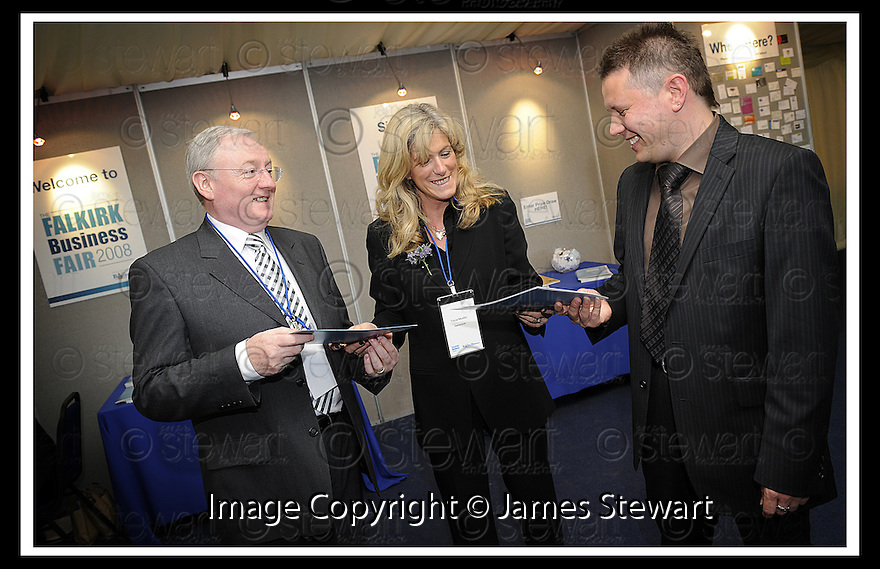 01/05/2008   Copyright Pic: James Stewart.File Name : 42_business_fair.FALKIRK BUSINESS FAIR 2008.James Stewart Photo Agency 19 Carronlea Drive, Falkirk. FK2 8DN      Vat Reg No. 607 6932 25.Studio      : +44 (0)1324 611191 .Mobile      : +44 (0)7721 416997.E-mail  :  jim@jspa.co.uk.If you require further information then contact Jim Stewart on any of the numbers above........
