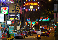 Wanchai red light District. The area where British banker 29-year-old Rurik Jutting, alleged killer of 2 Asian women lived. <br /> <br /> PHOTO BY SINOPIX<br /> <br /> 02-Nov- 2014