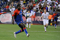 Leonel Saint-Preux (9) of Haiti (HAI). The United States and Haiti played to a 2-2 tie during a CONCACAF Gold Cup Group B group stage match at Gillette Stadium in Foxborough, MA, on July 11, 2009. .