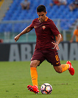Calcio, Serie A: Roma vs Udinese. Roma, stadio Olimpico, 20 agosto 2016.<br /> Roma's Diego Perotti in action during the Italian Serie A football match between Roma and Udinese at Rome's Olympic Stadium, 20 August 2016. Roma won 4-0.<br /> UPDATE IMAGES PRESS/Riccardo De Luca
