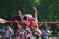 4 May 2008: Stanford Cardinal Lexie Spiranac during Stanford's Payton Jordan Cardinal Invitational at Cobb Track & Angell Field in Stanford, CA.