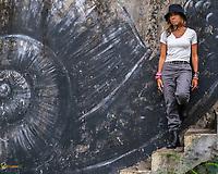 Aidelisa en Aibonito #aidelisa #watertank #dareportraits #color