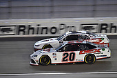 #20: Harrison Burton, Joe Gibbs Racing, Toyota Supra Dex Imaging, #1: Michael Annett, JR Motorsports, Chevrolet Camaro AHA/Pilot Flying J
