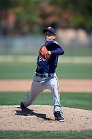 Minnesota Twins pitcher Rickey Ramirez (26) during a Minor League Spring Training game against the Tampa Bay Rays on March 17, 2018 at CenturyLink Sports Complex in Fort Myers, Florida.  (Mike Janes/Four Seam Images)