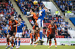 St Johnstone v Dundee United…22.08.21  McDiarmid Park    SPFL<br />Liam Smith challenges Liam Craig<br />Picture by Graeme Hart.<br />Copyright Perthshire Picture Agency<br />Tel: 01738 623350  Mobile: 07990 594431