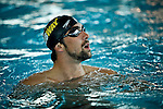 USA-Olympic medalist Michael Phelps attends an event to support his sister in Whitney in New York