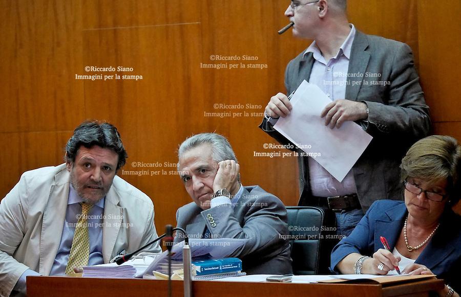 - NAPOLI 21 OTT 2014 -  Consiglio Comunale di Napoli. <br />  il segretario generale del Comune, Gaetano Virtuoso