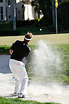 PALM BEACH GARDENS, FL. - Tim petrovic from the bunker on hole 17 during Round Two play at the 2009 Honda Classic - PGA National Resort and Spa in Palm Beach Gardens, FL. on March 6, 2009.
