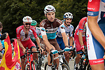 Pierre Latour (FRA) AG2R la Mondiale and Julian Alaphilippe (FRA) Deceuninck-Quick Step climb Col de Marie Blanque during Stage 9 of Tour de France 2020, running 153km from Pau to Laruns, France. 6th September 2020. <br /> Picture: Colin Flockton   Cyclefile<br /> All photos usage must carry mandatory copyright credit (© Cyclefile   Colin Flockton)