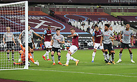 West Ham United's Andriy Yarmolenko with a first half chance<br /> <br /> Photographer Rob Newell/CameraSport<br /> <br /> Carabao Cup Second Round Northern Section - West Ham United v Charlton Athletic - Tuesday 15th September 2020 - London Stadium - London <br />  <br /> World Copyright © 2020 CameraSport. All rights reserved. 43 Linden Ave. Countesthorpe. Leicester. England. LE8 5PG - Tel: +44 (0) 116 277 4147 - admin@camerasport.com - www.camerasport.com