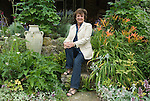 Rosa Monckton friend of the late Diana the Princess of Wales at home. Dallington,  East Sussex. England 2007