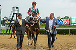 JUNE 04, 2021 : Firenze Fire with Jose Ortiz aboard, wins the Gr.2  True North Stakes, at 6 1/2 furlongs, at Belmont Park, Elmont, NY. Sue Kawczynski-Eclipse Sportswire-CSM
