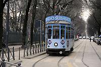 - Milano, vettura tranviaria pubblicitaria<br /> <br /> - Milan, advertising tram car