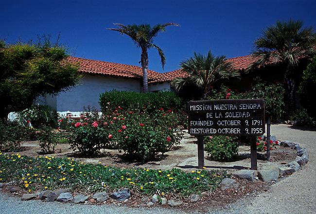 Mission Nuestra Senora de la Soledad, Soledad, California, United States, North America.