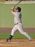 Catcher Adalberto Ibarra (20) of the Salem Red Sox, a Boston Red Sox affiliate, in a game against the Potomac Nationals on June 8, 2012, at Pfitzner Stadium in Woodbridge, Virginia. Potomac won the first game of a doubleheader, 5-4. (Tom Priddy/Four Seam Images)