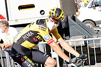 10th September 2020, Chauvigny to Sarran Correze, France; 107th Tour de France Cycling tour, stage 12;  Jumbo - Visma Van Aert, Wout in Chauvigny