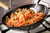 Stir Fry Noodles, carrots & Bean Shoots