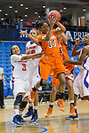 UTSA Roadrunners guard Simone Young (15) in action during the game between the UTSA Roadrunners and the Texas Arlington Mavericks at the College Park Center arena in Arlington, Texas. UTSA defeats UTA 59 to 57....