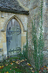 England,Oxfordshire,St Mary the Virgin,Chastleton.Door