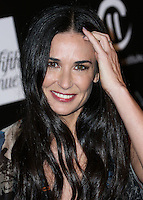 CULVER CITY, CA, USA - OCTOBER 08: Demi Moore arrives at the 5th Annual PSLA Autumn Party benefiting Children's Institute, Inc. held at 3Labs on October 8, 2014 in Culver City, California, United States. (Photo by Xavier Collin/Celebrity Monitor)