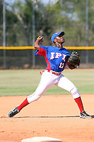 Tony Rijo participates in the International Prospect League Showcase at the New York Yankees academy in Boca Chica, Dominican Republic on January 24, 2014 (Bill Mitchell)